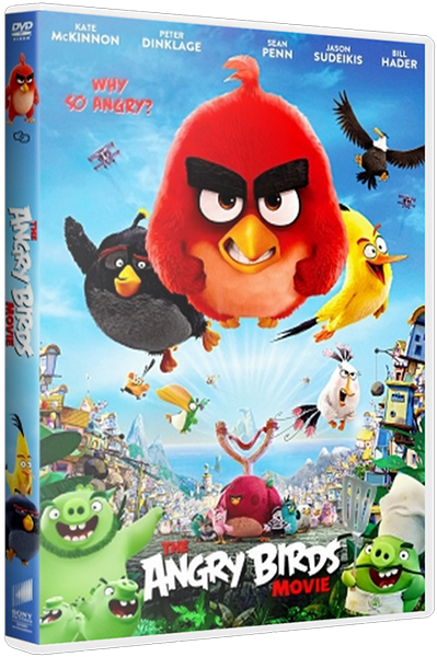 Angry Birds в кино / The Angry Birds Movie (2016) HDRip