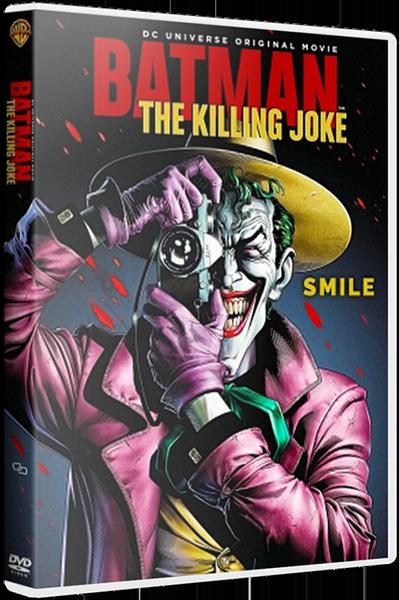 Бэтмен: Убийственная шутка / Batman: The Killing Joke (2016) BDRip